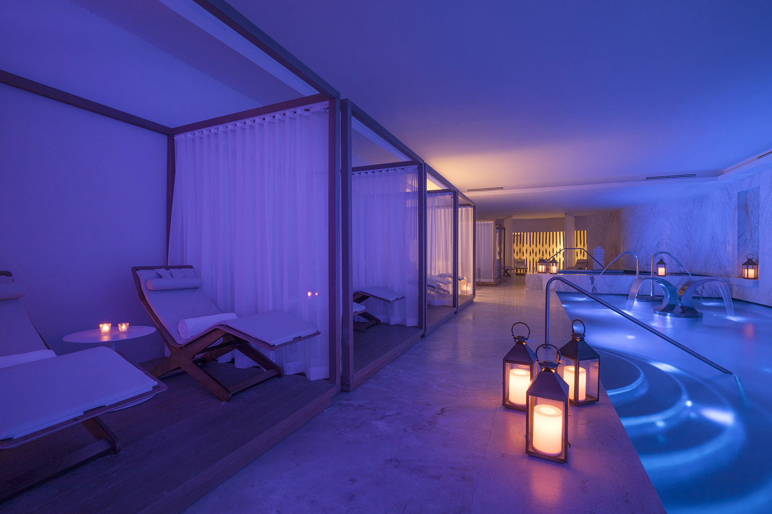 BlancSpa is intimate, indulgent and ready to treat guests to a robust menu of extraoirdinary treatments.