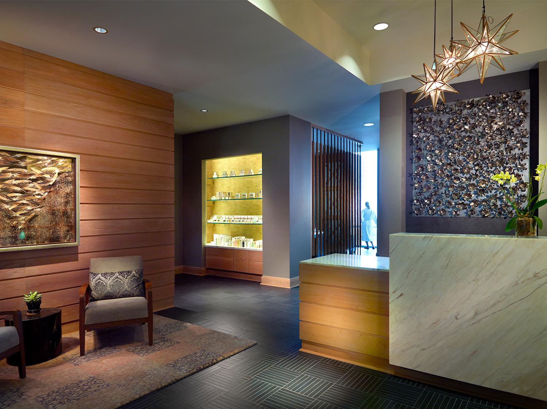 Mokara spa reception area