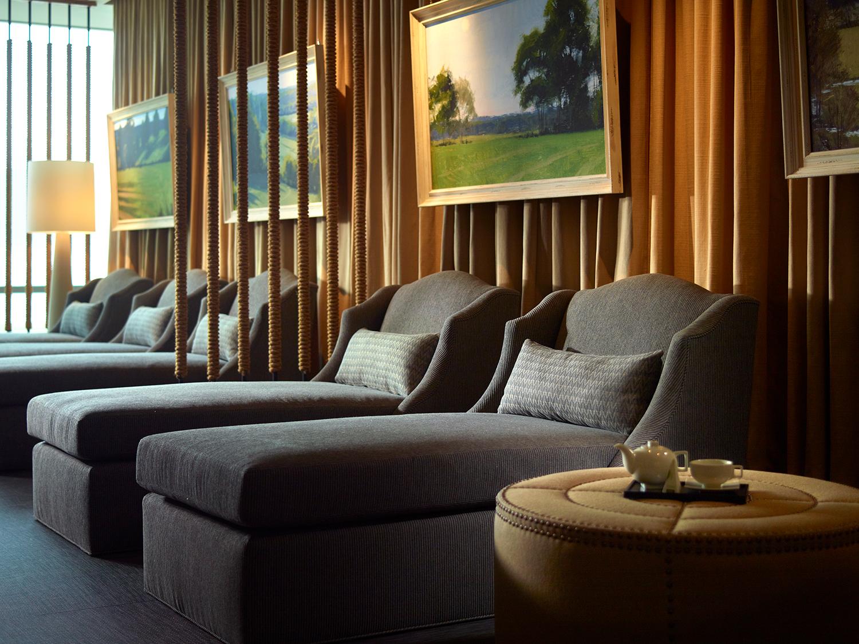 Relaxation room at Mokara, Nashville