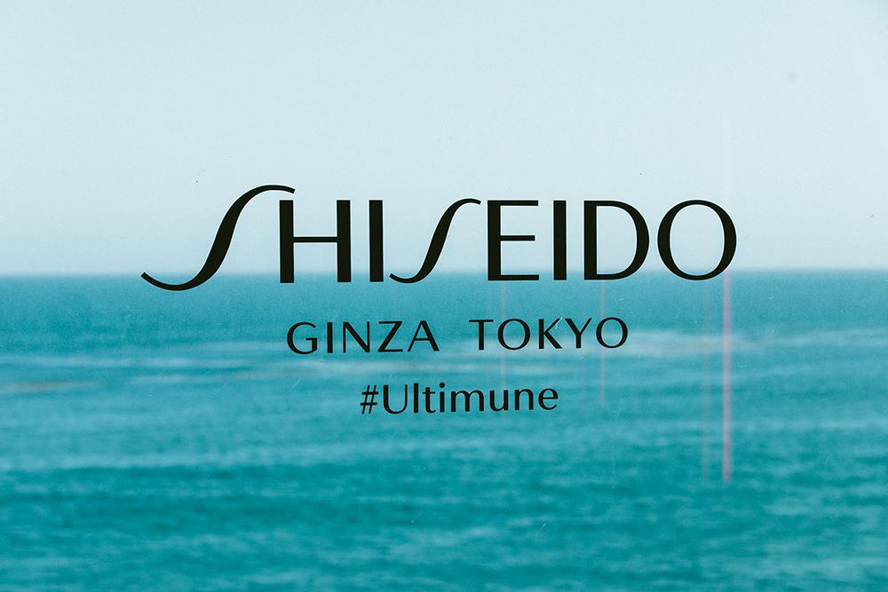The view from the Shiseido Malibu beach house.