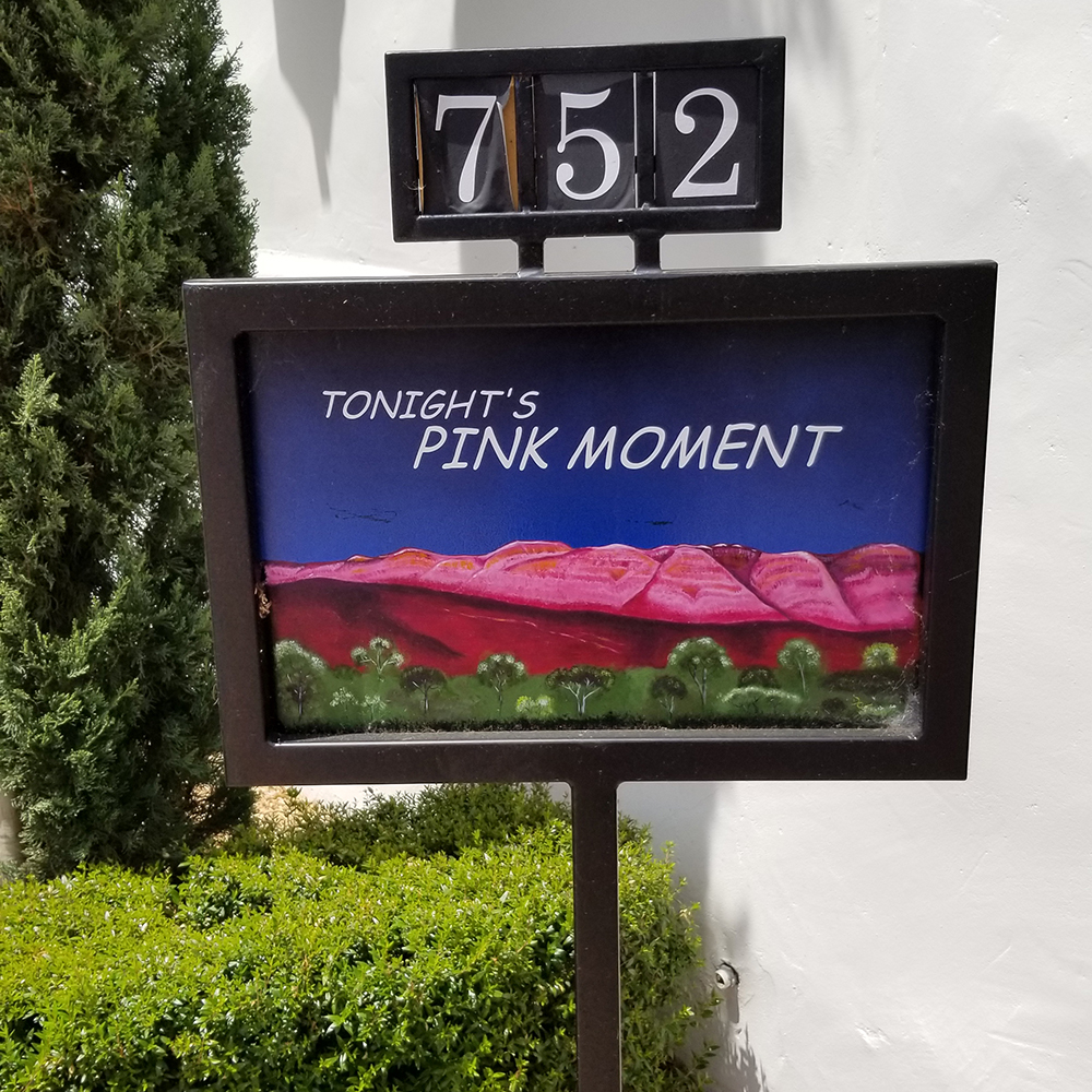 The pink moment in Ojai is a must-see!