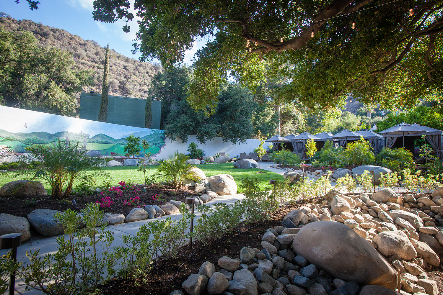 Glen Ivy Hot Springs' new Secret Garden offers the perfect place for relaxation.