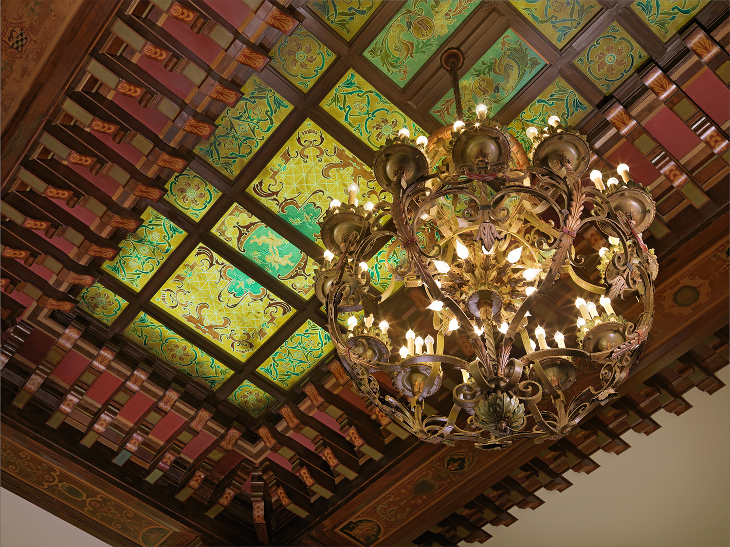The Peabody's architecture and decor are charming, elegant and grand.