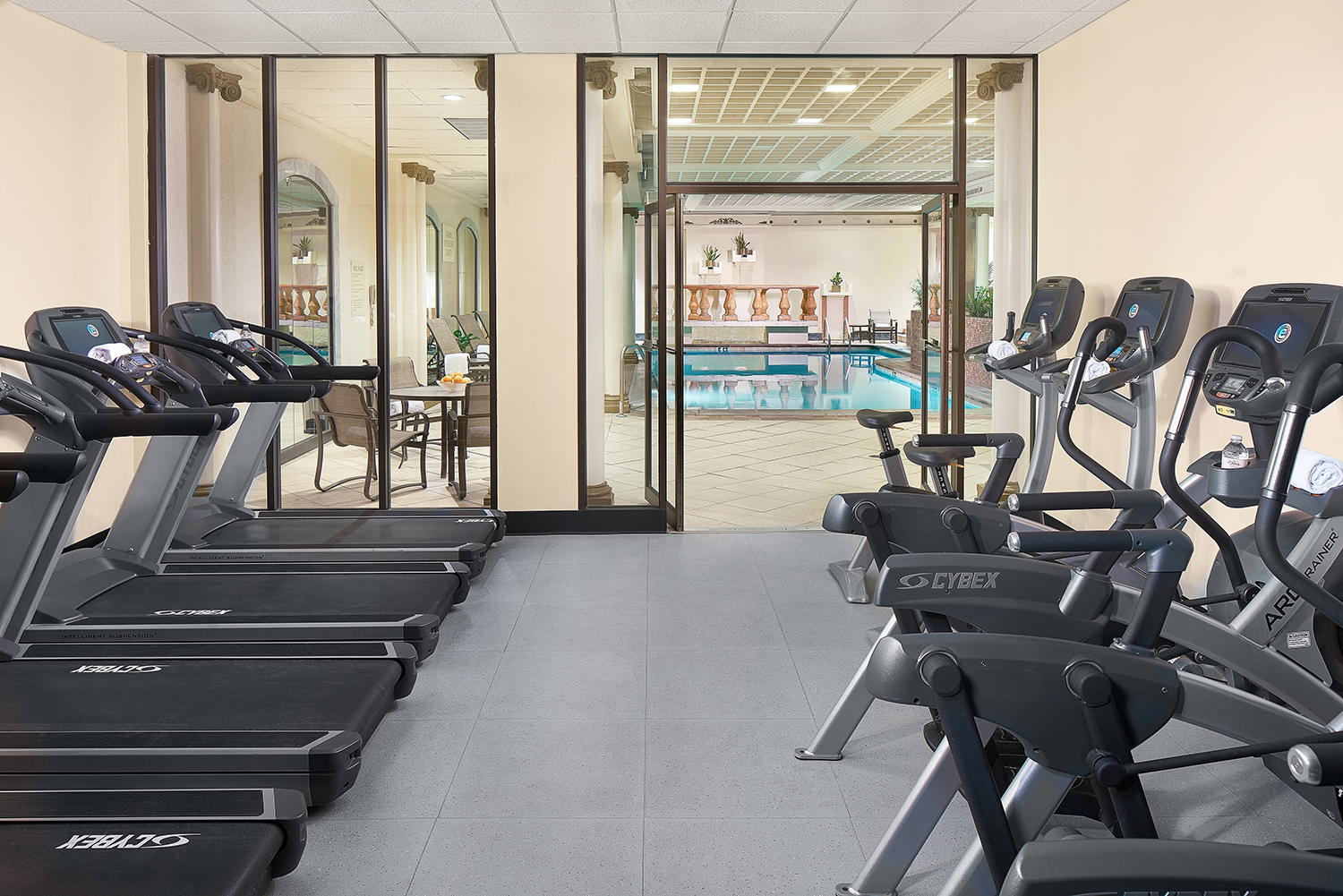 Spa guests also receive access to the Athletic Club, which has a heated pool.