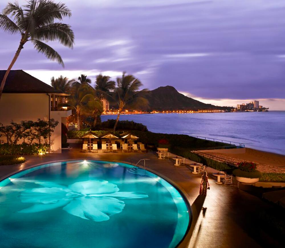 Halekulani in Waikiki.