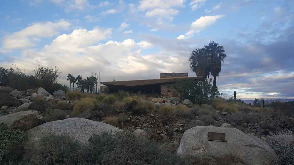 Edris House, a mid-century modern home in Palm Springs.