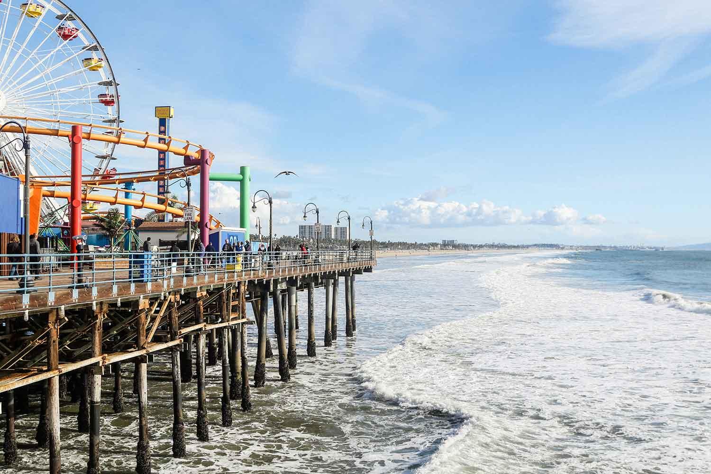 Santa Monica ranks third on the list of most expensive California summer travel destinations.