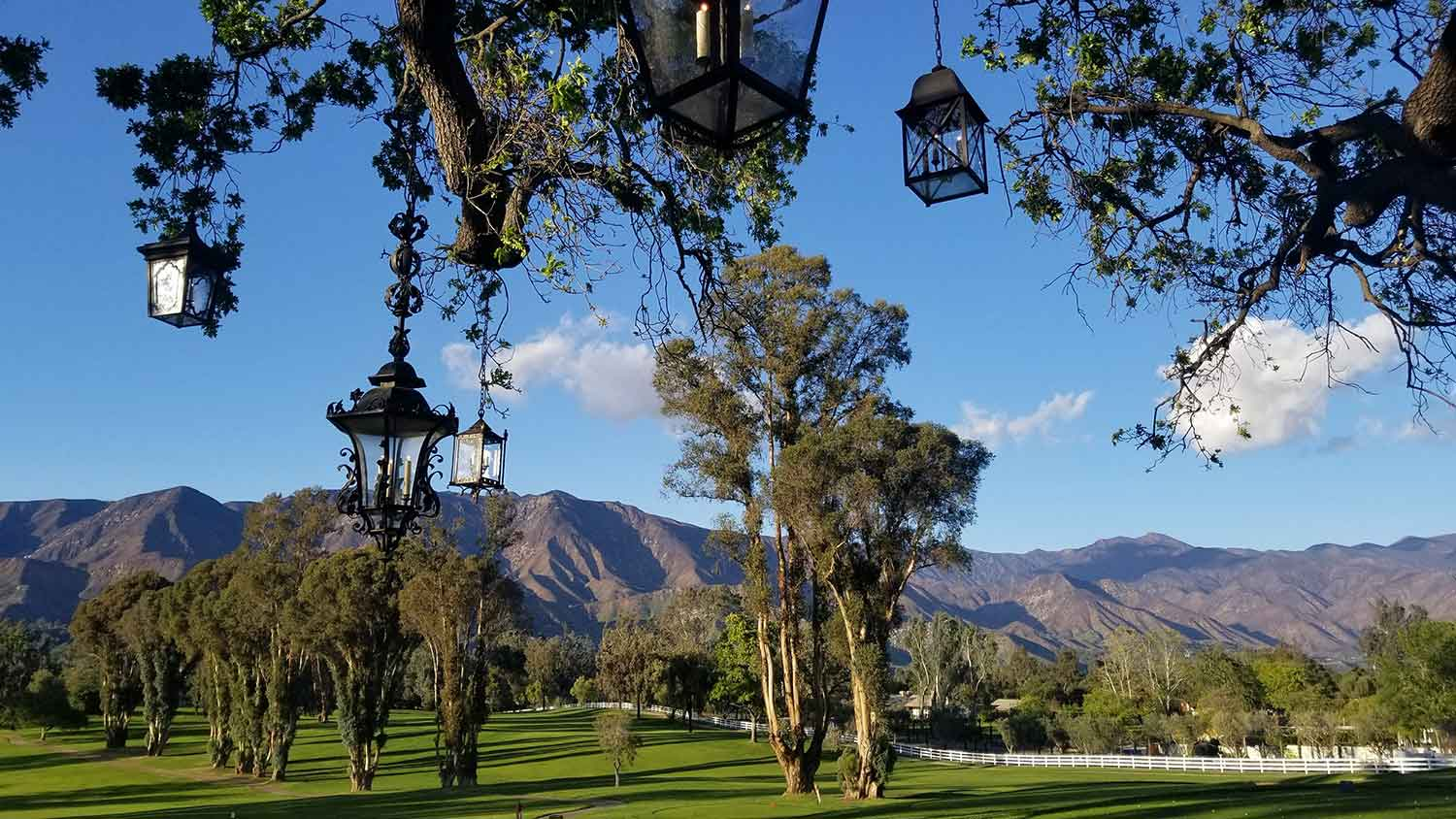 Stunning Ojai views at Ojai Valley Inn and Spa.