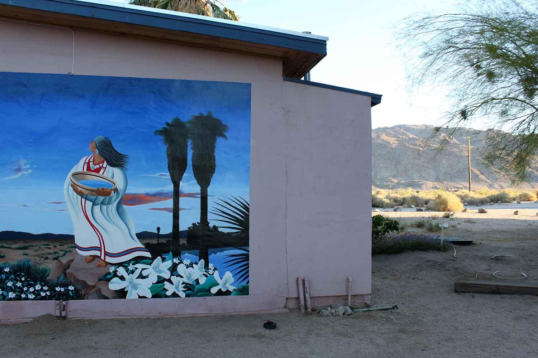 A mural in Twentynine Palms.