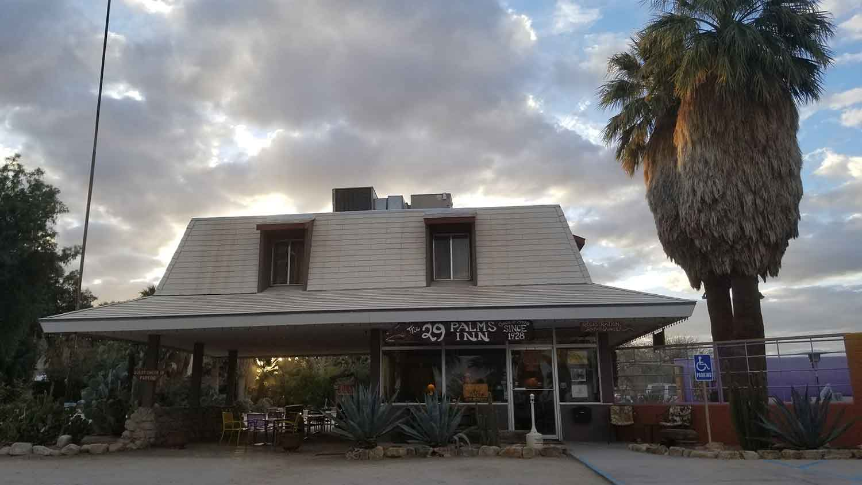 The 29 Palms Inn.