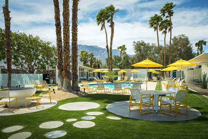 The Monkey Tree Hotel. [Image courtesy of Palm Springs Preferred Small Hotels]