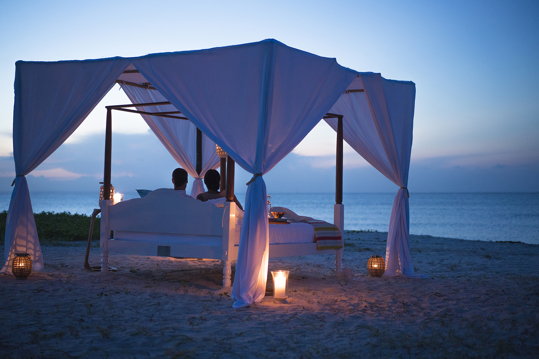 Anantara Medjumbe Island Resort's Star Bed Experience.