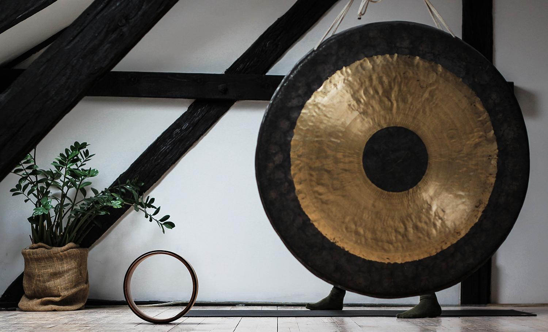 The Gong Bath Meditation Workshop (Aug 14) focuses on movement and meditation for total rejuvenation.