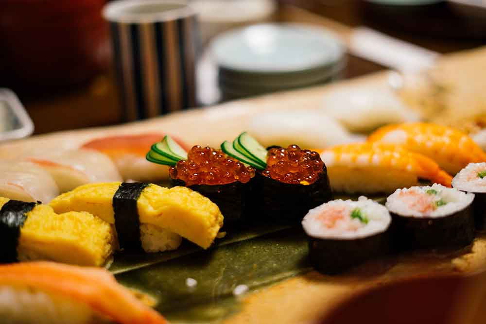Guests can learn how to make authentic Japanese cuisine with a hands-on sushi and sake class.