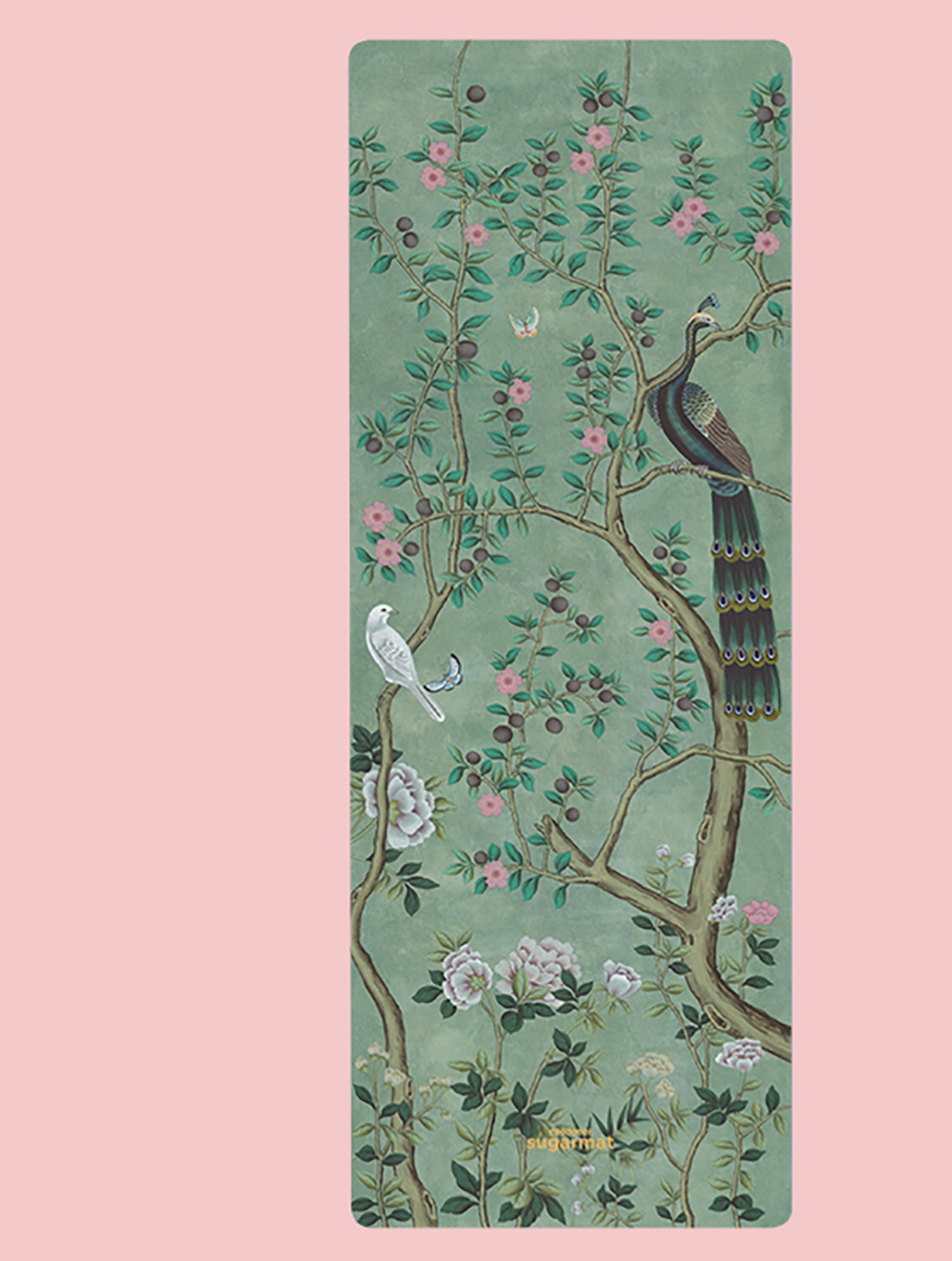 The Jade Chinoise Panel 1 design from the Chinoiserie collection ($99).