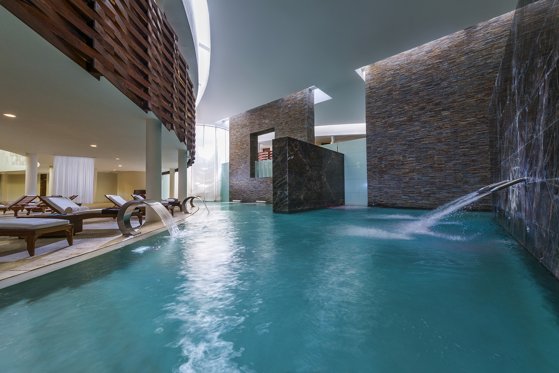 SE Spa at Grand Velas Riviera Maya was inspired by the jungle and natural water pools of the Yucatan Peninsula.