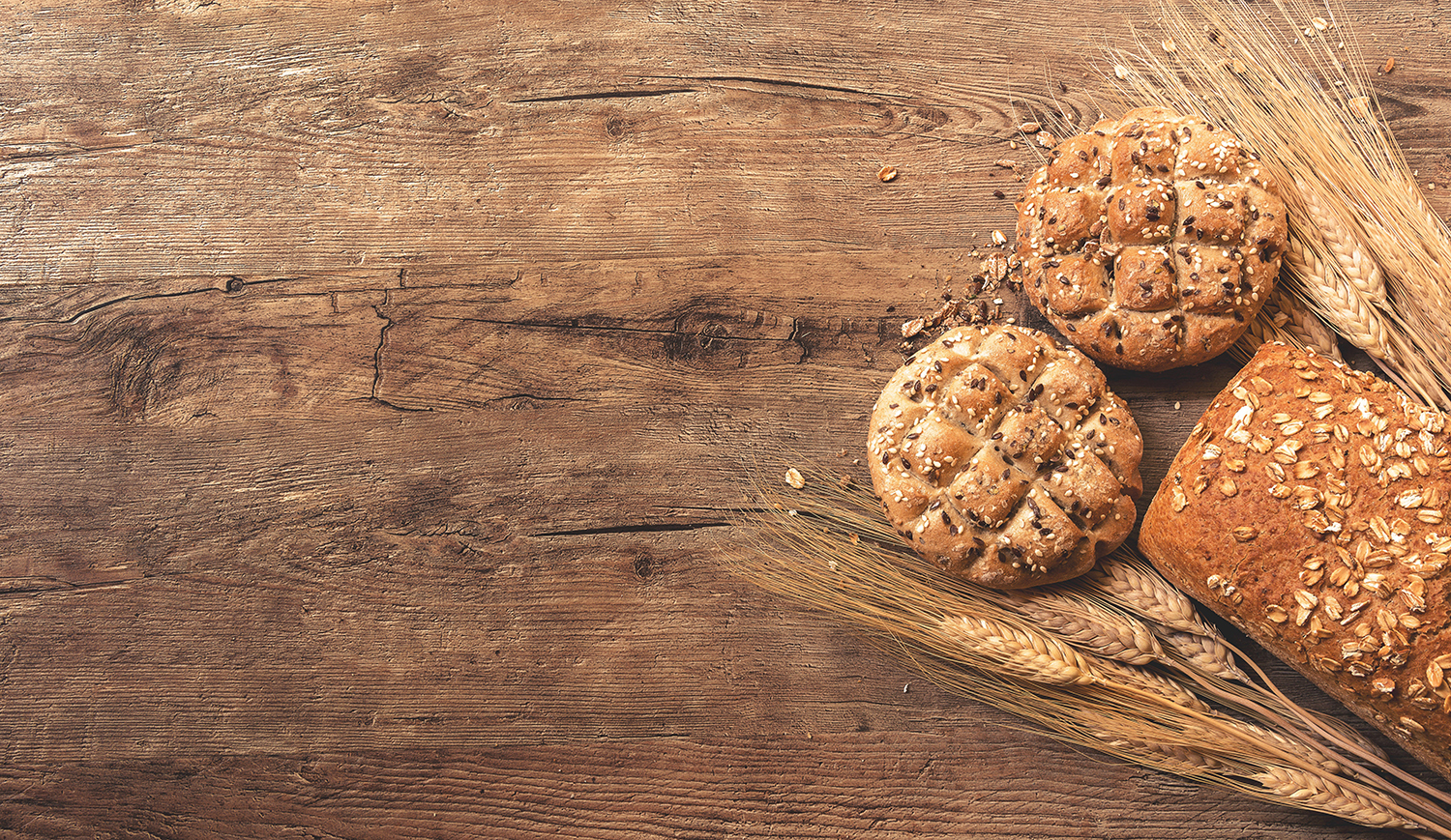 Replace refined carbohydrates and processed flour with organic whole grains.