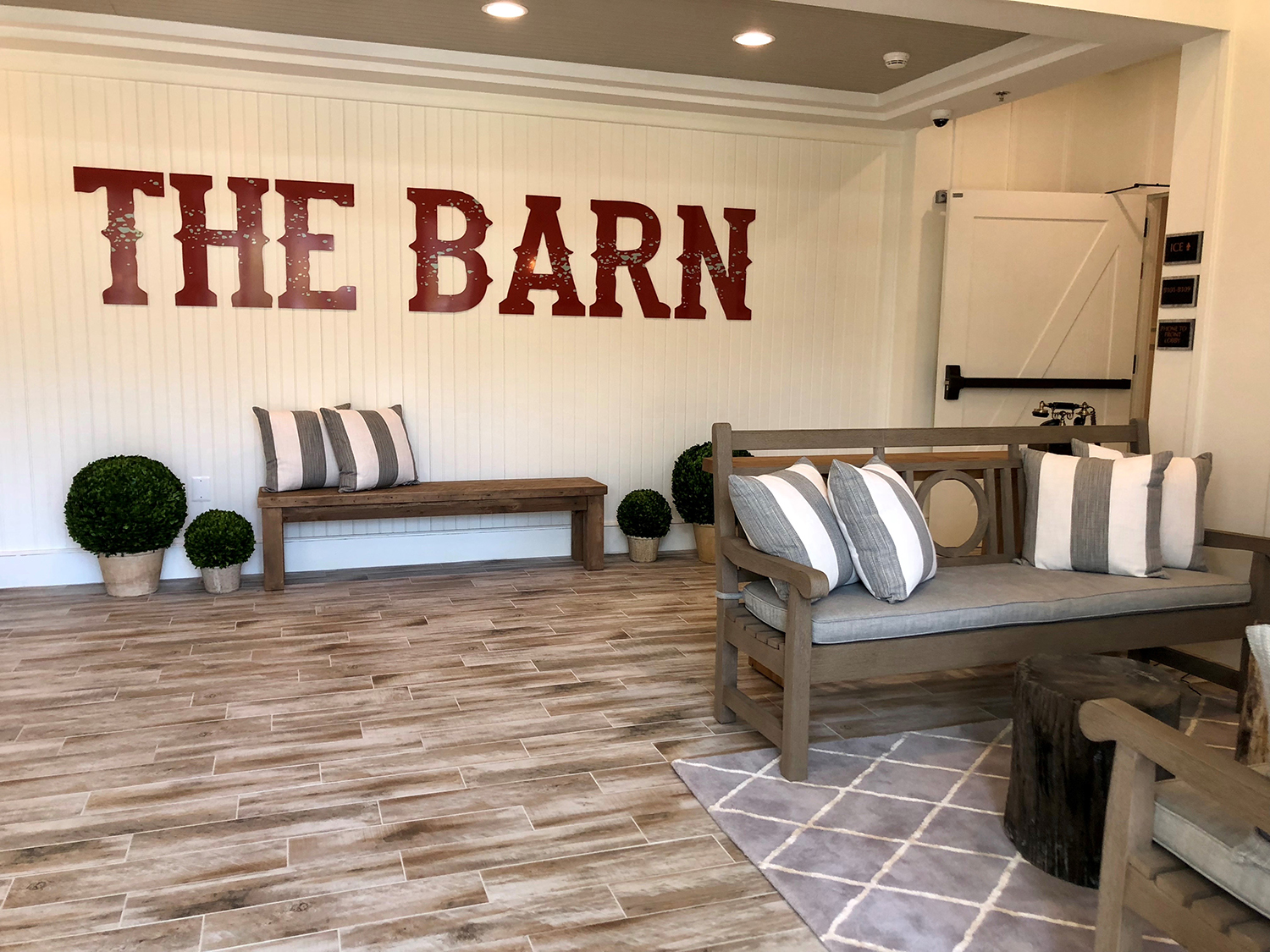 The Inn captures the essence of the farm-to-table movement and its charming style is reflective of its local surroundings.