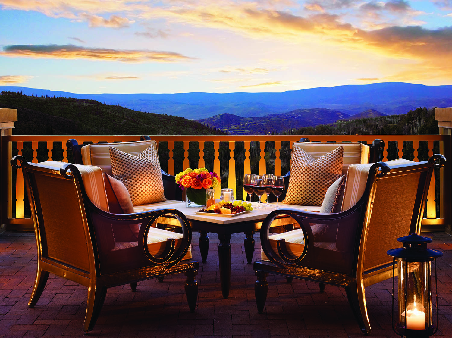Guests can enjoy stunning views from the Montage Vista Terrace..