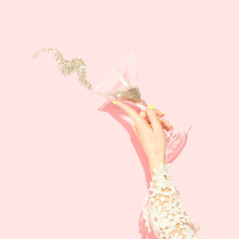Don't let too much bubbly get the best of you.