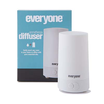 Everyone Ultrasonic Aromatherapy Diffuser ($34.99)