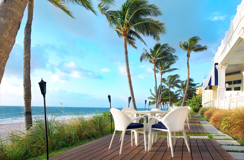 Pelican Grand Beach Resort.