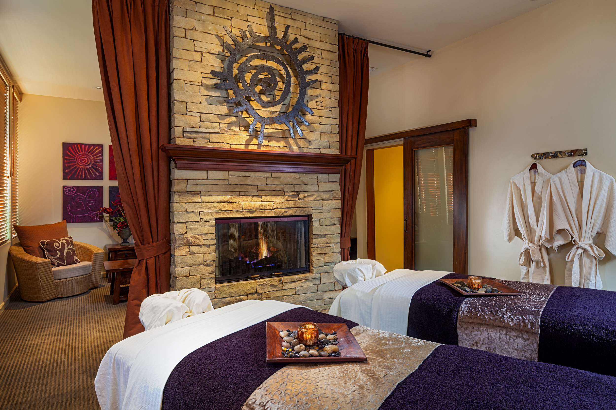 The Spa's Couples Treatment Room.