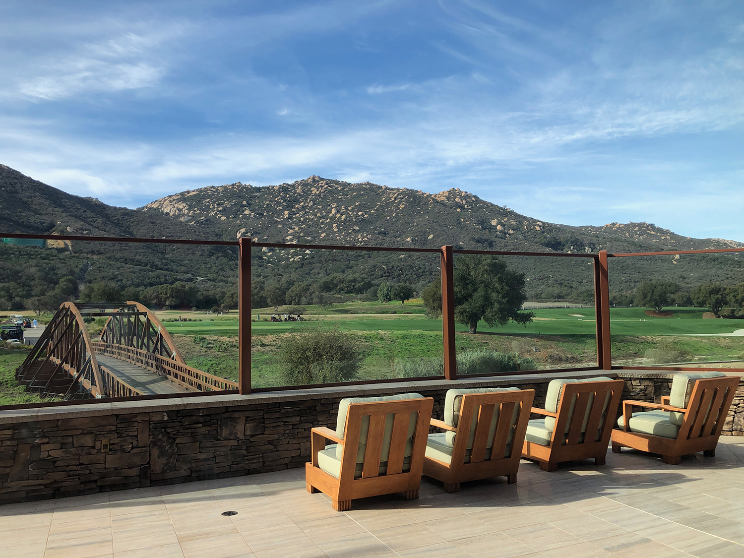 Journey's End has several outdoor decks with expansive views.