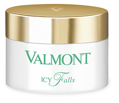 Valmont Icy Falls is a refreshing cleansing jelly that features glacial spring water, pro-beautics and pre-beautics.