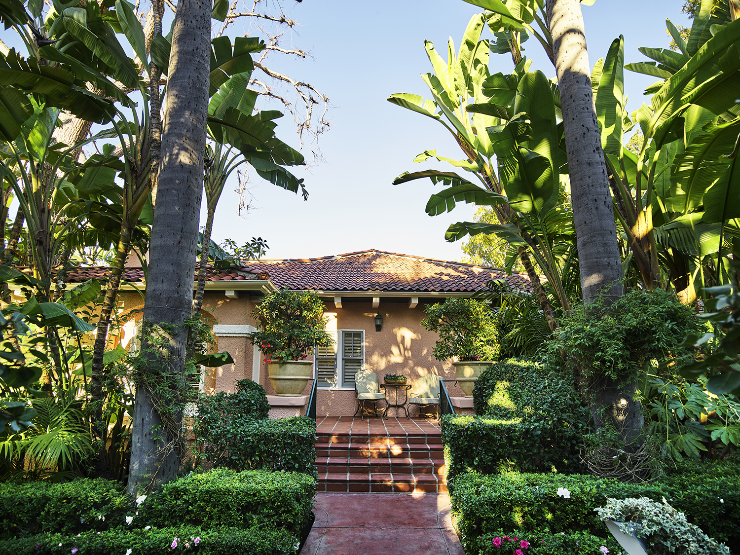 The Howard Hughes Bungalow at The Beverly Hills Hotel.