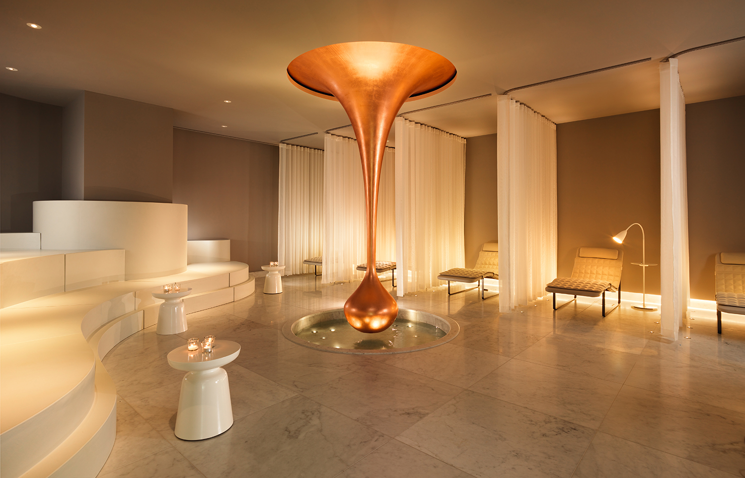 One of the Spa's relaxing lounge areas.