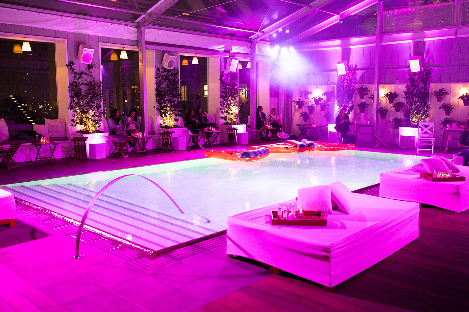 To celebrate the launch, the brand hosted a special party at Skybar at Mondrian Los Angeles.