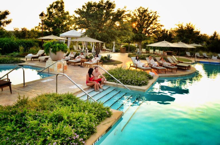 Swimming pool at the JW Marriott San Antonio Hill Country Resort & Spa's Lantana Spa.