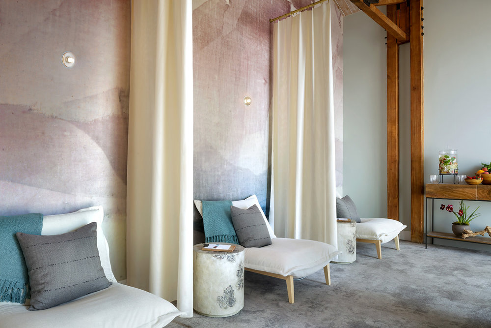 Relaxation Area at Sanctuary Beach Resort. [Image courtesy of Sanctuary Beach Resort.]