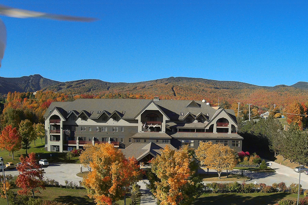 Guests of New Life Hiking spa stay at The Killington Mountain Lodge Hotel.