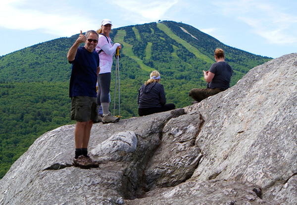 Advanced hikers enjoy breathtaking views from the highest peaks in Vermont.