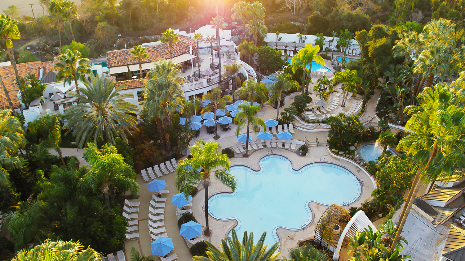 Glen Ivy Hot Springs has a total of 19 different types of pools.