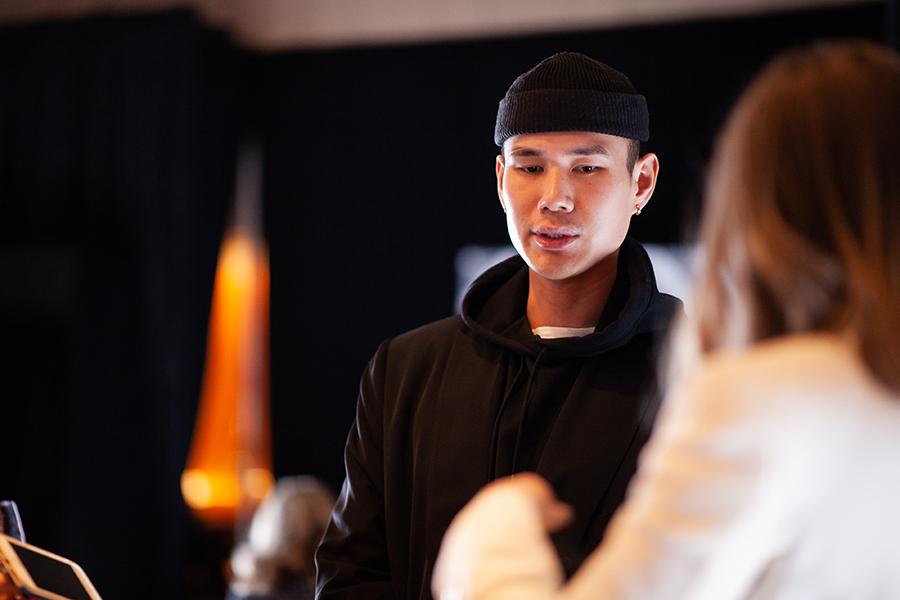 Shiseido Global Golor Artist Patrick Ta hosts the Shiseido ControlledChaos MascaraInk's Launch Party at Japan House LA on International Women's Day.
