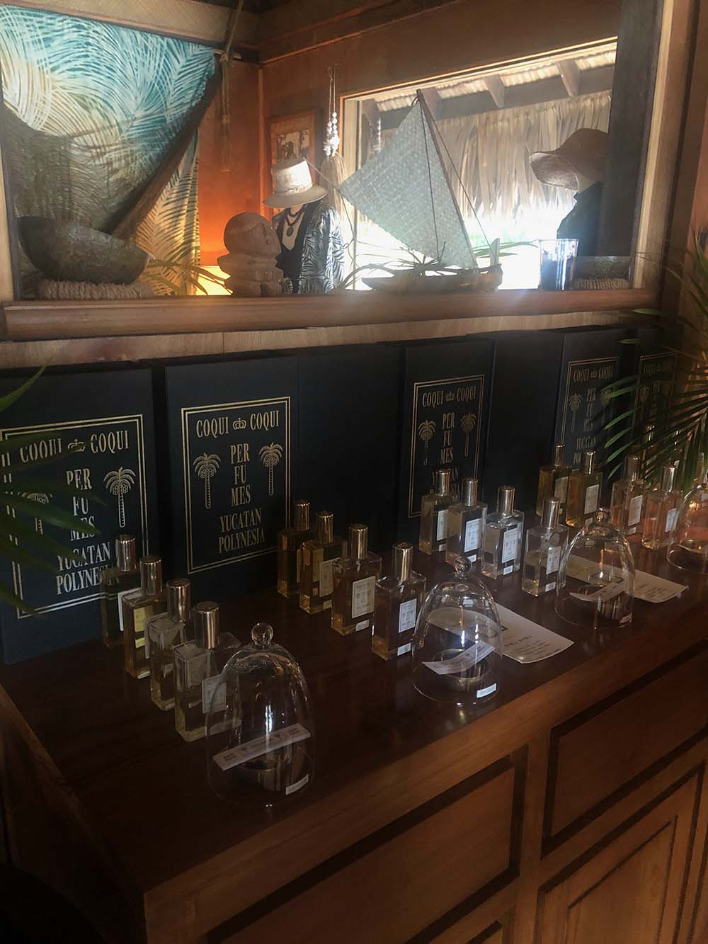 Unique fragrances, oils, beauty products, and scents for the home and body can be found in the boutique.