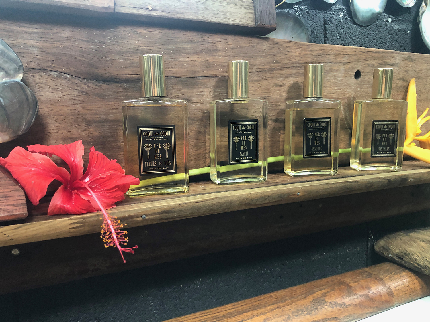 Guests can choose from the new Polynesia Collection of eight different fragrances to personalize each treatment.