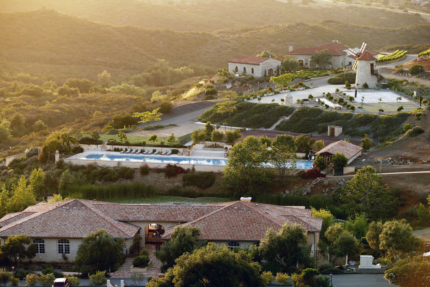 Cal-a-Vie Health Spa resembles a French village and is nestled within 500 private acres in northern San Diego County.