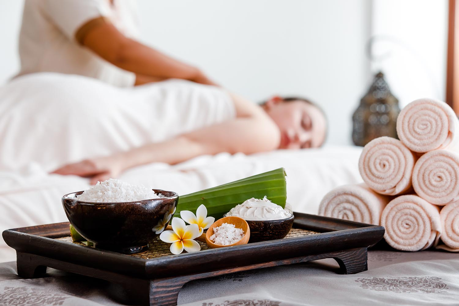 The Coconut Indulgence is one of the spa's most popular treatments.