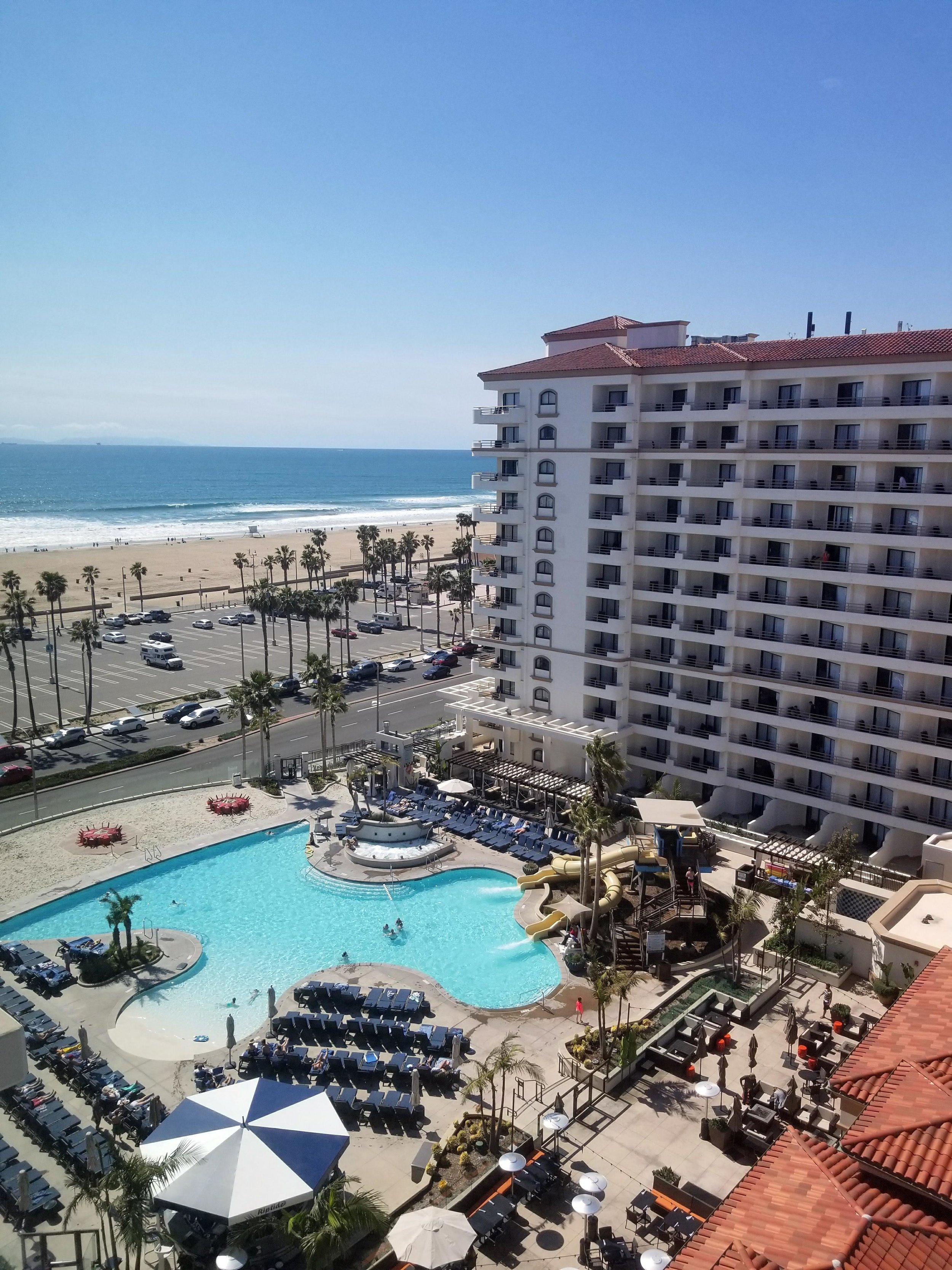 The Waterfront Beach Resort in Huntington Beach, California.