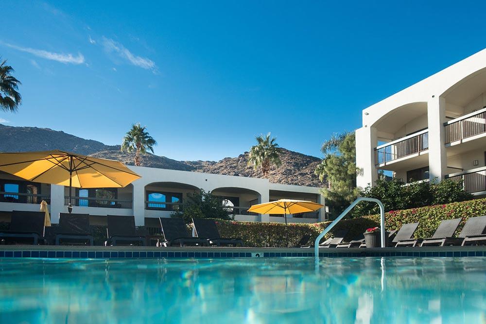 The resort swimming pool.