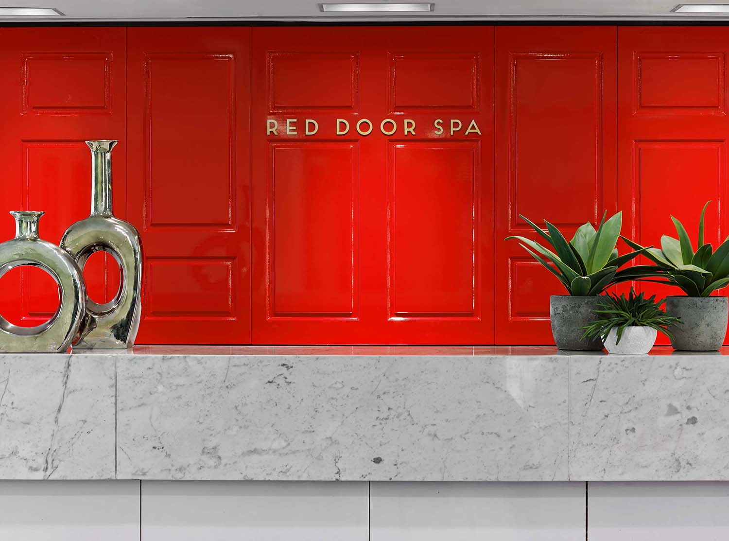 Red Door Salon & Spa is located in the heart of midtown New York.