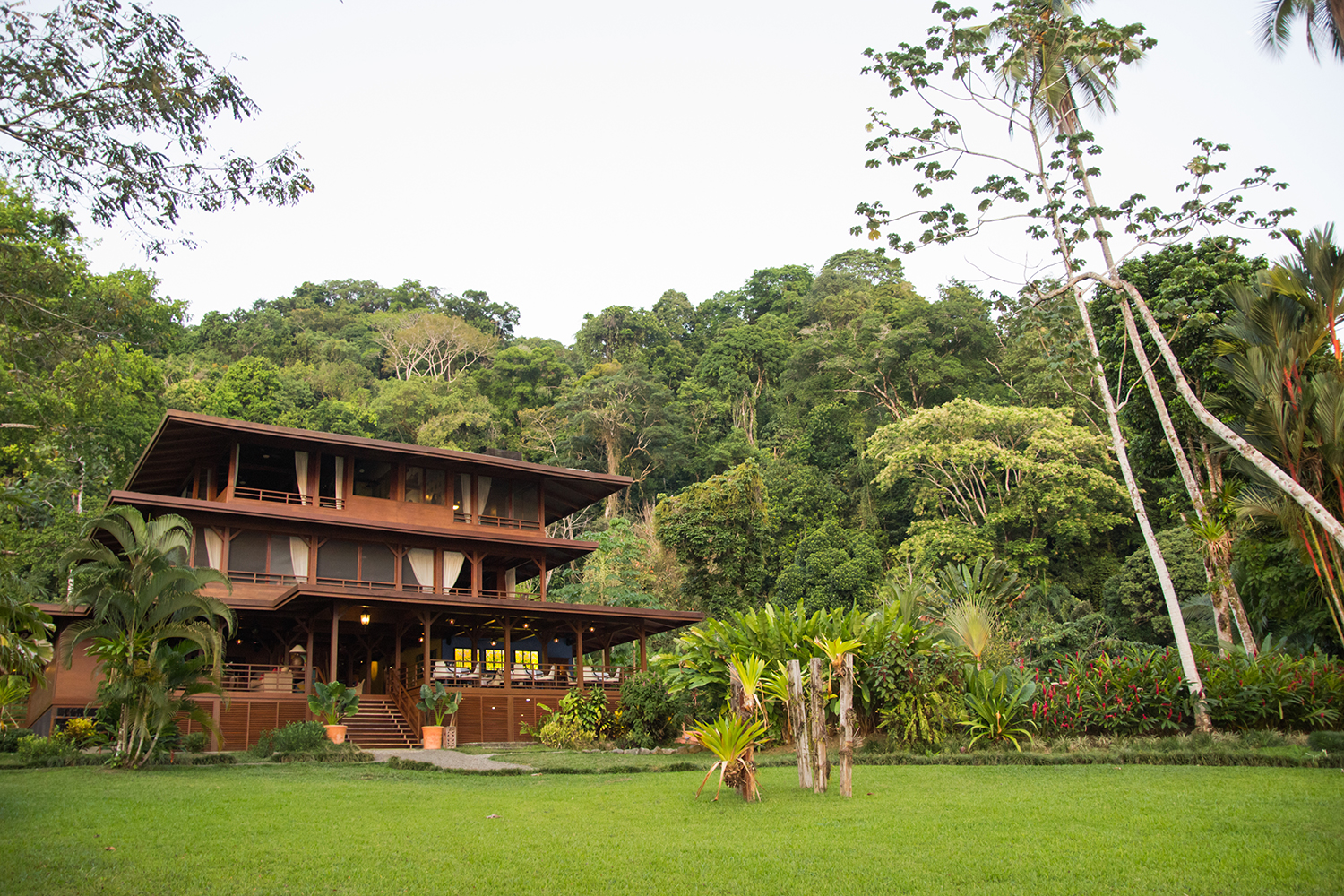 Playa Cativo Lodge is a luxury all-inclusive beachfront eco-lodge in the remote rainforests of Costa Rica.