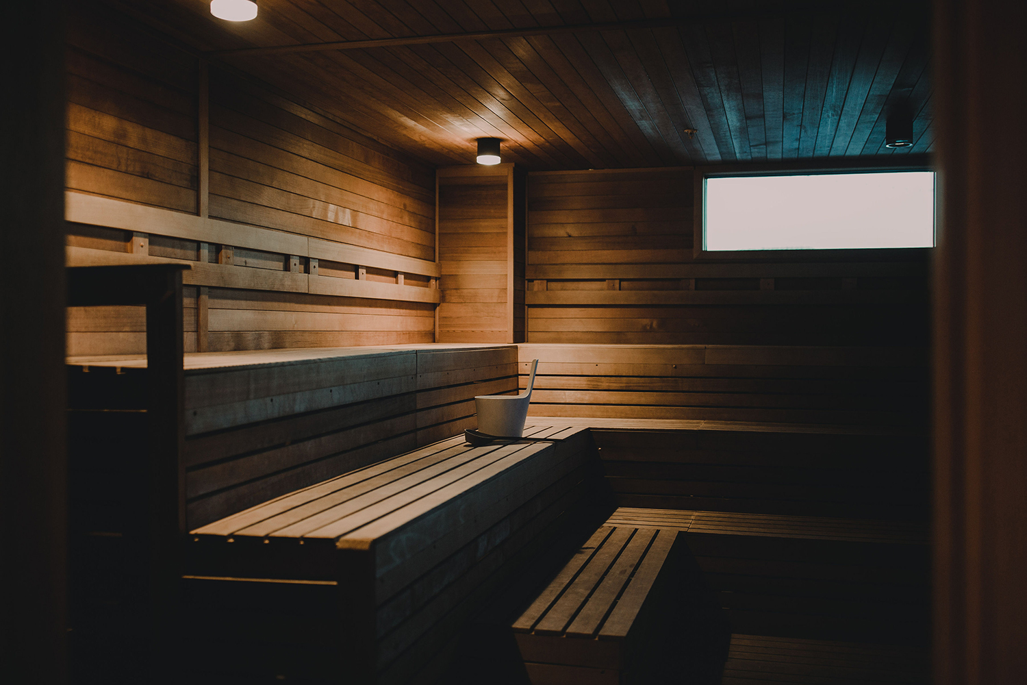 Hewing Hotel's Meet the Heat sauna program brings the wellness benefits of sweat bathing to life throughout North America with sauna experiences, trainings, and product development.