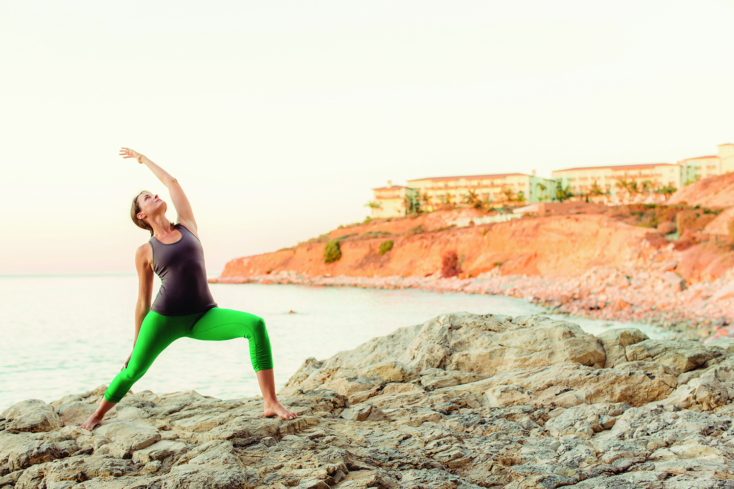 The Immersive Wellness Retreat includes optional full moon yoga on the resort's Ocean Lawn.