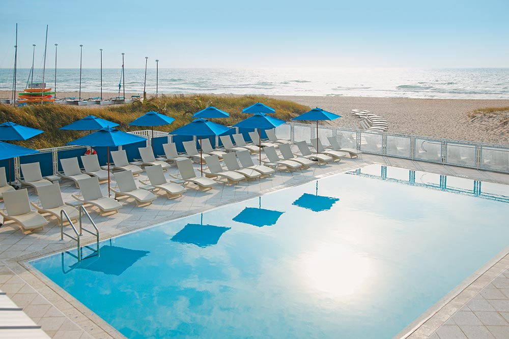 Pool at Seagate Hotel and Spa.