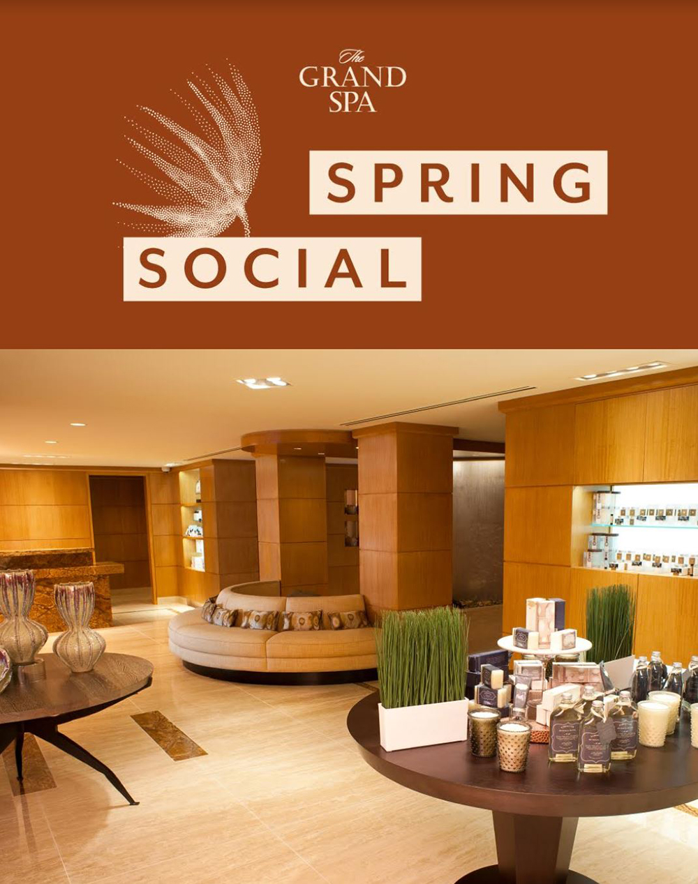 Recently, The Spa Insider attended The Grand Spa Spring Social at The Grand America Hotel in Salt Lake City.